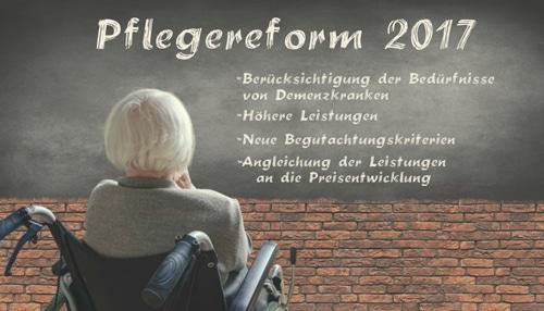 Pflegereform 2017 – Eine erste Bilanz