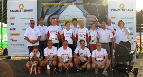 Let the Games Begin! TeleAlarm at the Leipzig Company Race!