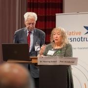 Annelie Keil und Henning Scherf auf dem 2. Bundeskongress Hausnotruf