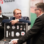 TeleAlarm beim Bundeskongress Hausnotruf in Berlin