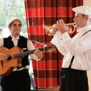 Musiker auf dem Bundeskongress Hausnotruf