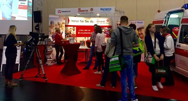 TeleAlarm präsentiert sich auf der 2. Pflegemesse in Dresden