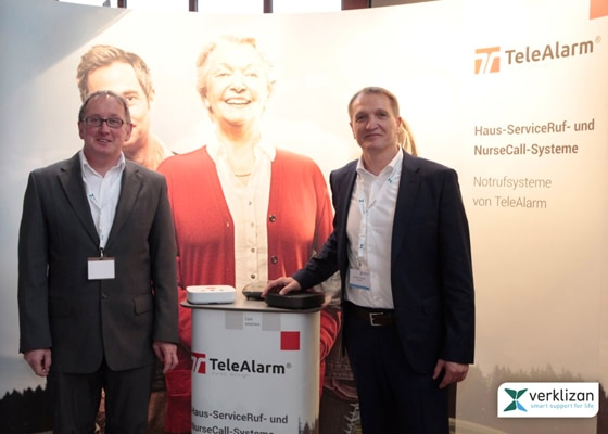 """Care about Care!"" – TeleAlarm auf dem Verklizan Innovationstag 2017"