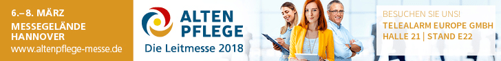 Altenpflege 2018 Die Leitmesse in Hannover