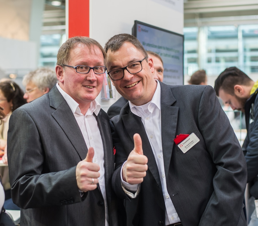Success for TeleAlarm at the Altenpflege 2018 trade fair