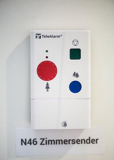 NurseCall N46 Zimmersender – Produktinformation