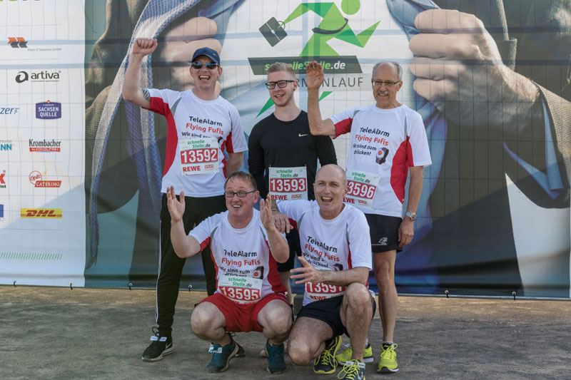 TeleAlarm Company Run 2018 Team
