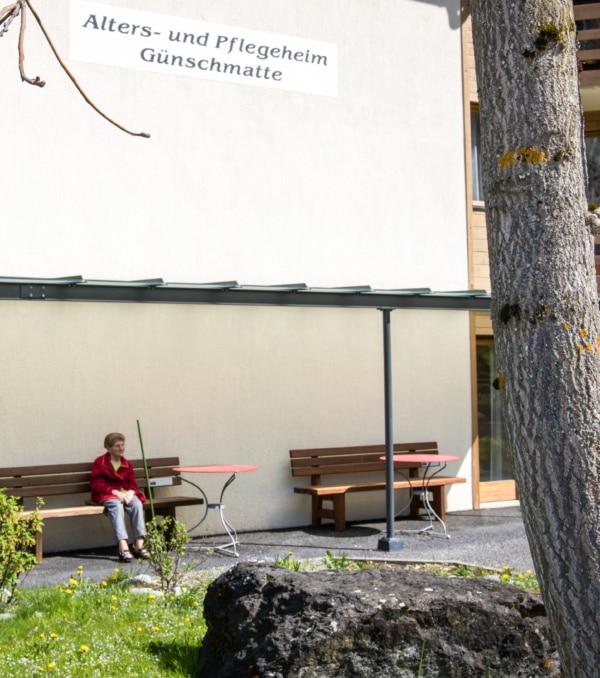 Alters- und Pflegeheim Günschmatte, Schweiz - Schnittstelle