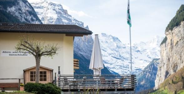 Exemple d'application de NurseCall – Alters- und Pflegeheim Günschmatte, Schweiz