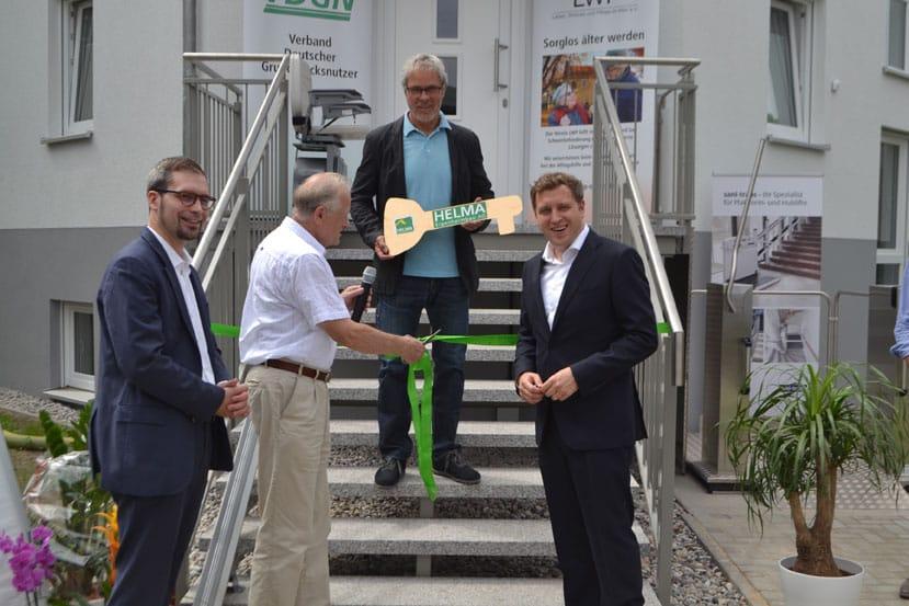 TeleAlarm-Produkte testen im Berliner Musterhaus