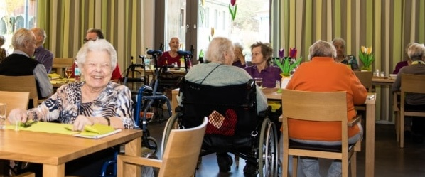 Wohn- und Pflegezentrum Wiborada, Schweiz Thema Sicherheit