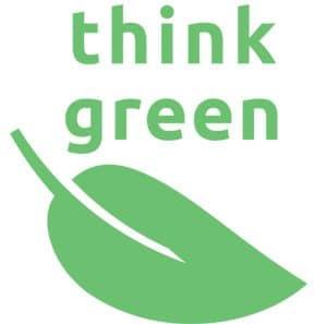 ThinkGreen Logo TeleAlarm, Umweltmanagement, ISO 14001:2004, Klimaschutz
