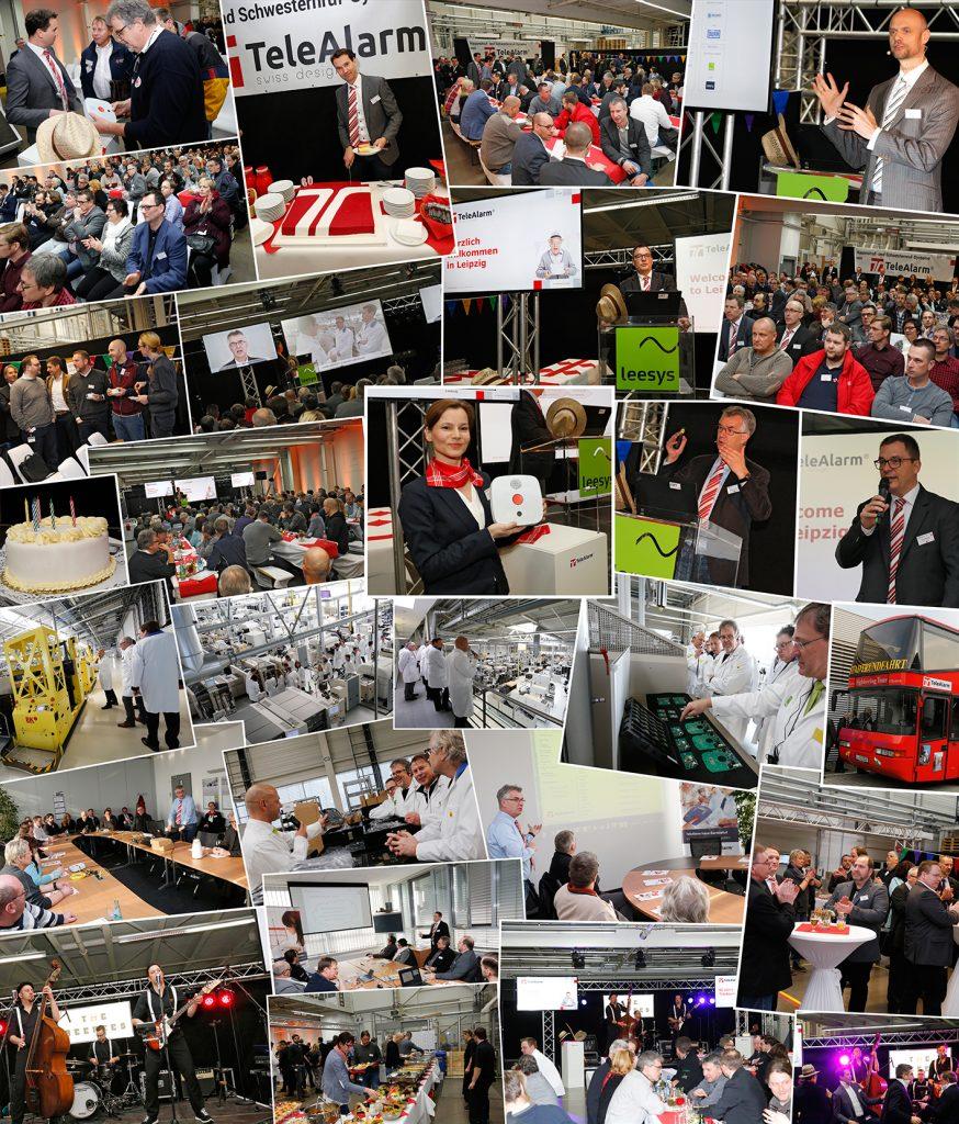 Eindrücke vom 60-jährigen Firmenjubiläum von TeleAlarm