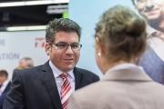 TeleAlarm im Kundengespräch auf der Altenpflege 2017