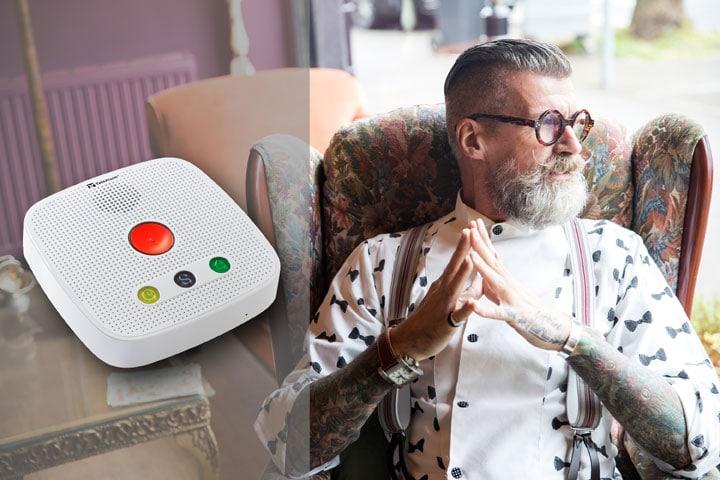 TA74-Serie: Leichter leben mit innovativer Hausnotruftechnik