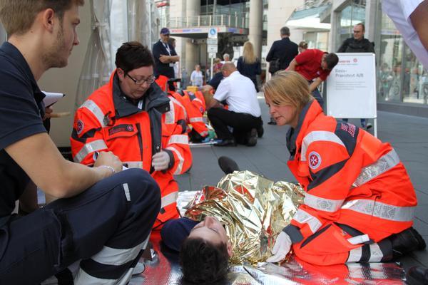 Johanniter im Landeswettkampf Erste Hilfe in NRW