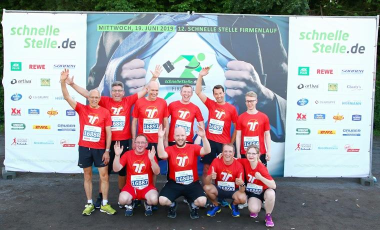 Rekord-Teilnehmerzahl beim 12. Leipziger Firmenlauf