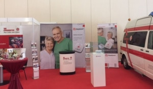 Messestand Pflegemesse Dresden